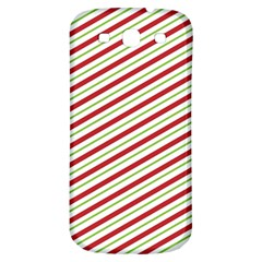 Stripes Striped Design Pattern Samsung Galaxy S3 S Iii Classic Hardshell Back Case