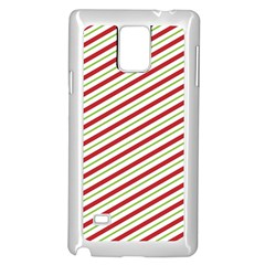 Stripes Striped Design Pattern Samsung Galaxy Note 4 Case (white)