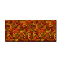Gold Mosaic Background Pattern Cosmetic Storage Cases by Nexatart