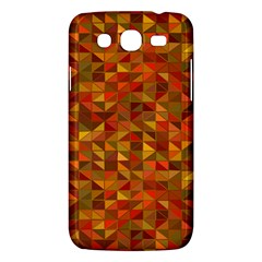 Gold Mosaic Background Pattern Samsung Galaxy Mega 5 8 I9152 Hardshell Case  by Nexatart