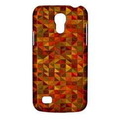 Gold Mosaic Background Pattern Galaxy S4 Mini