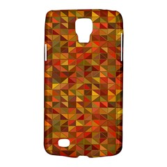 Gold Mosaic Background Pattern Galaxy S4 Active by Nexatart