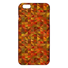 Gold Mosaic Background Pattern Iphone 6 Plus/6s Plus Tpu Case by Nexatart
