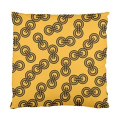 Abstract Shapes Links Design Standard Cushion Case (two Sides)