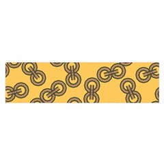 Abstract Shapes Links Design Satin Scarf (oblong) by Nexatart