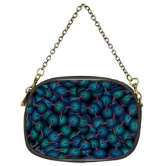 Background Abstract Textile Design Chain Purses (two Sides)