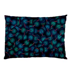 Background Abstract Textile Design Pillow Case (two Sides) by Nexatart