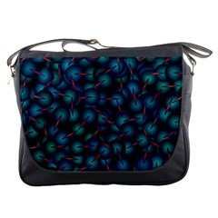 Background Abstract Textile Design Messenger Bags by Nexatart