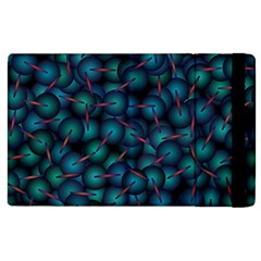 Background Abstract Textile Design Apple Ipad 2 Flip Case