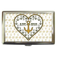 Anchor Heart Cigarette Money Cases by Nexatart