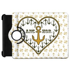 Anchor Heart Kindle Fire Hd 7  by Nexatart