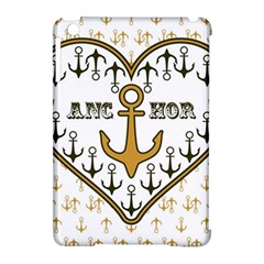 Anchor Heart Apple Ipad Mini Hardshell Case (compatible With Smart Cover)