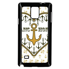 Anchor Heart Samsung Galaxy Note 4 Case (black)