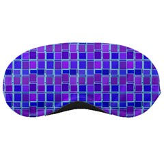 Background Mosaic Purple Blue Sleeping Masks by Nexatart