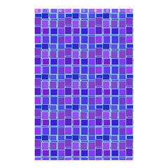 Background Mosaic Purple Blue Shower Curtain 48  X 72  (small)  by Nexatart