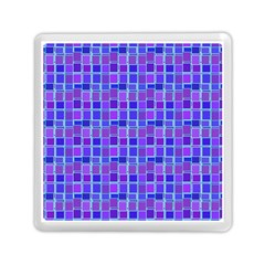 Background Mosaic Purple Blue Memory Card Reader (square)  by Nexatart