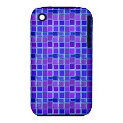 Background Mosaic Purple Blue Iphone 3s/3gs