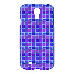 Background Mosaic Purple Blue Samsung Galaxy S4 I9500/i9505 Hardshell Case by Nexatart