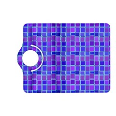 Background Mosaic Purple Blue Kindle Fire Hd (2013) Flip 360 Case by Nexatart