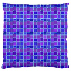 Background Mosaic Purple Blue Standard Flano Cushion Case (two Sides) by Nexatart