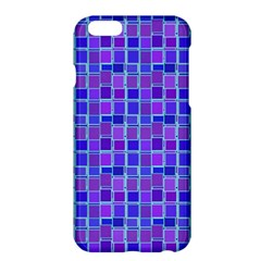 Background Mosaic Purple Blue Apple Iphone 6 Plus/6s Plus Hardshell Case by Nexatart