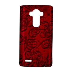 Christmas Background Red Star Lg G4 Hardshell Case by Nexatart