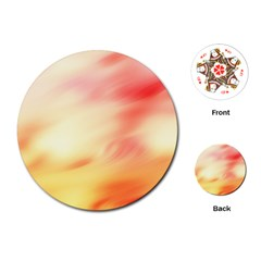 Background Abstract Texture Pattern Playing Cards (round)  by Nexatart