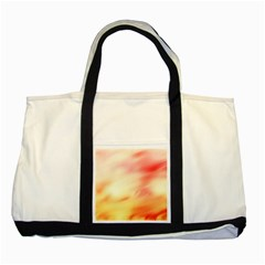 Background Abstract Texture Pattern Two Tone Tote Bag