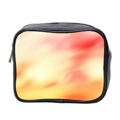 Background Abstract Texture Pattern Mini Toiletries Bag 2 Side