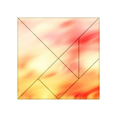 Background Abstract Texture Pattern Acrylic Tangram Puzzle (4  X 4 ) by Nexatart
