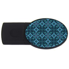Abstract Pattern Design Texture Usb Flash Drive Oval (2 Gb)