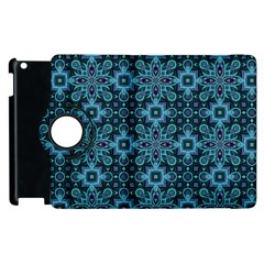 Abstract Pattern Design Texture Apple Ipad 2 Flip 360 Case by Nexatart