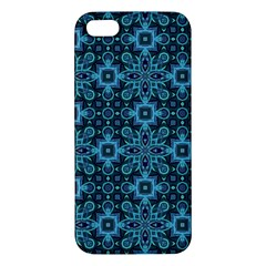 Abstract Pattern Design Texture Apple Iphone 5 Premium Hardshell Case by Nexatart