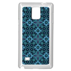 Abstract Pattern Design Texture Samsung Galaxy Note 4 Case (White)
