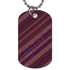 Stripes Course Texture Background Dog Tag (two Sides) by Nexatart
