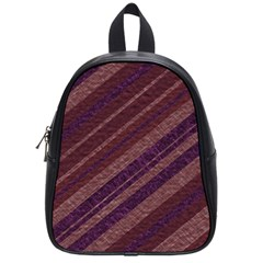 Stripes Course Texture Background School Bags (small)  by Nexatart