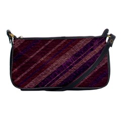 Stripes Course Texture Background Shoulder Clutch Bags