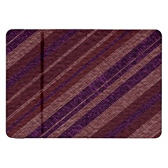 Stripes Course Texture Background Samsung Galaxy Tab 8 9  P7300 Flip Case by Nexatart