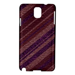 Stripes Course Texture Background Samsung Galaxy Note 3 N9005 Hardshell Case by Nexatart