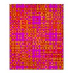 Pink Orange Bright Abstract Shower Curtain 60  X 72  (medium)  by Nexatart