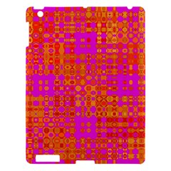 Pink Orange Bright Abstract Apple Ipad 3/4 Hardshell Case