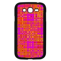 Pink Orange Bright Abstract Samsung Galaxy Grand Duos I9082 Case (black)