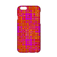 Pink Orange Bright Abstract Apple Iphone 6/6s Hardshell Case by Nexatart