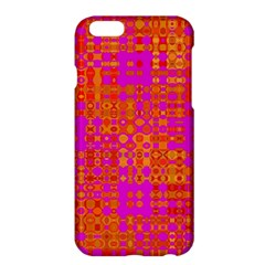 Pink Orange Bright Abstract Apple Iphone 6 Plus/6s Plus Hardshell Case