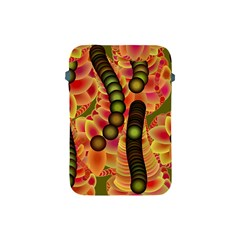 Abstract Background Digital Green Apple Ipad Mini Protective Soft Cases by Nexatart