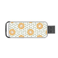 Stamping Pattern Fashion Background Portable Usb Flash (one Side) by Nexatart