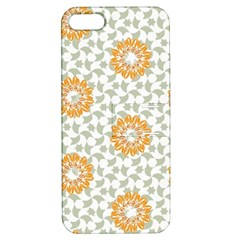 Stamping Pattern Fashion Background Apple Iphone 5 Hardshell Case With Stand by Nexatart