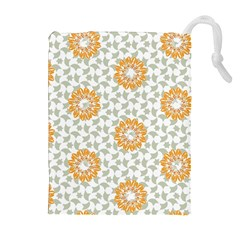 Stamping Pattern Fashion Background Drawstring Pouches (extra Large)
