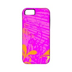 Spring Tropical Floral Palm Bird Apple Iphone 5 Classic Hardshell Case (pc+silicone) by Nexatart