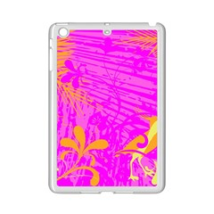 Spring Tropical Floral Palm Bird Ipad Mini 2 Enamel Coated Cases by Nexatart